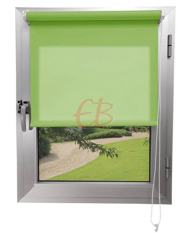 Mini estor sin Taladrar Traslúcido C1 Verde Pistacho 4979