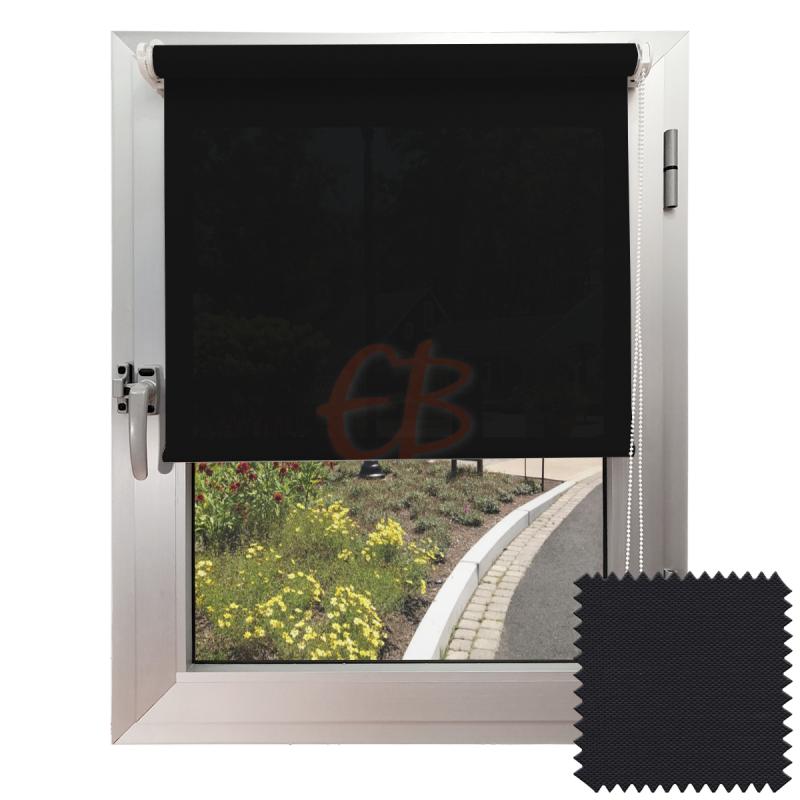 Mini estor sin Taladrar EcoScreen1% Visibilidad muy baja Antracita B1 3030