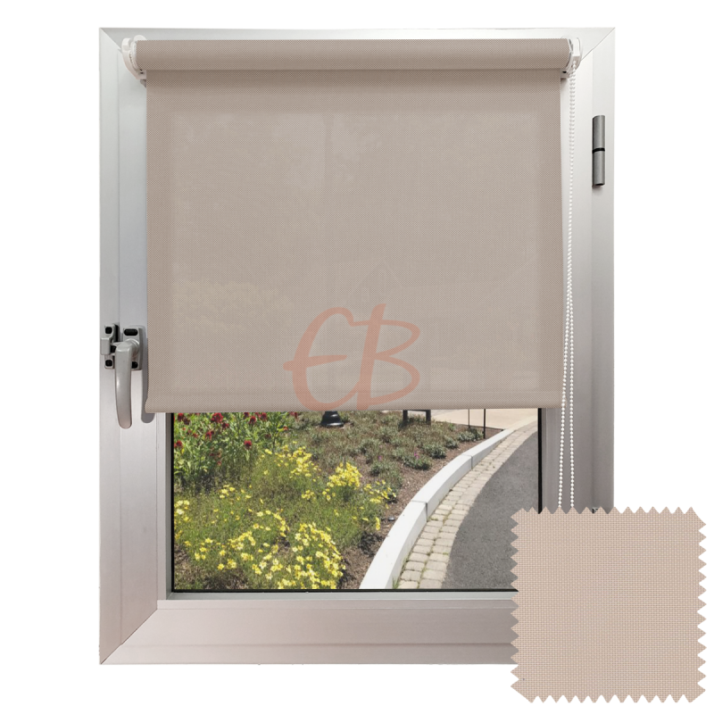 Mini estor sin Taladrar EcoScreen1% Visibilidad muy baja Lino B1 2020