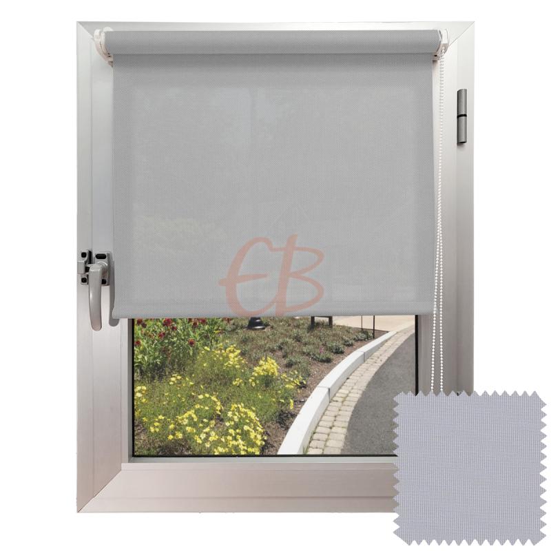 Mini estor sin Taladrar EcoScreen1% Visibilidad muy baja Perla B1 0707