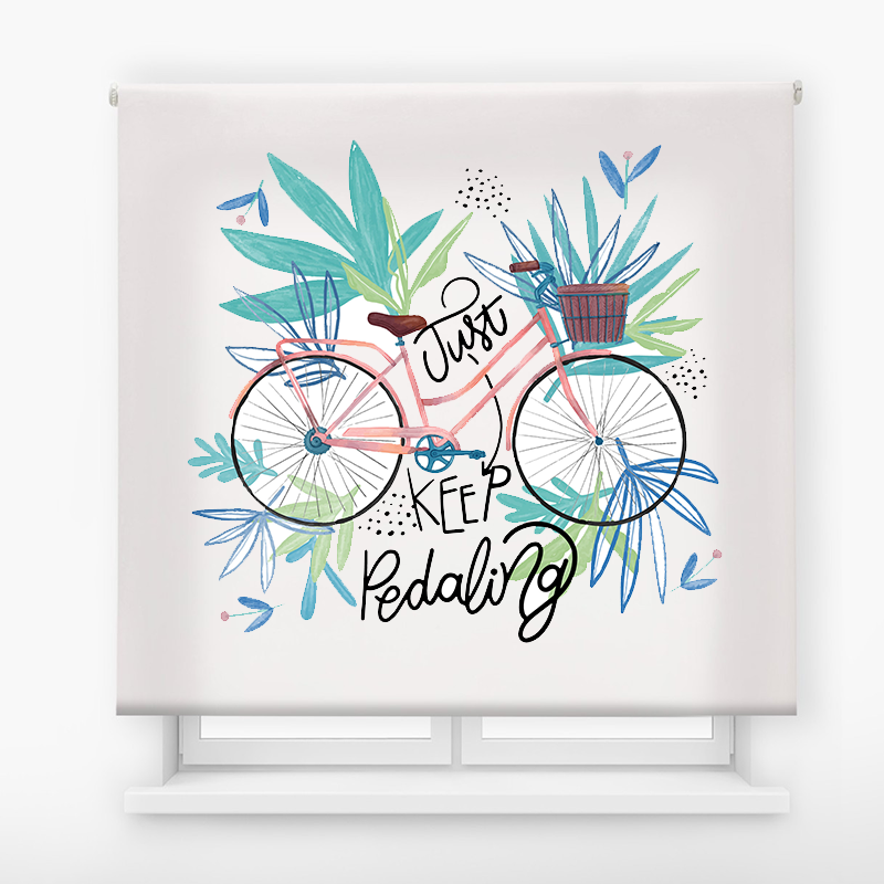 Estor impresión digital  juvenil Cool Fiction Bike nature