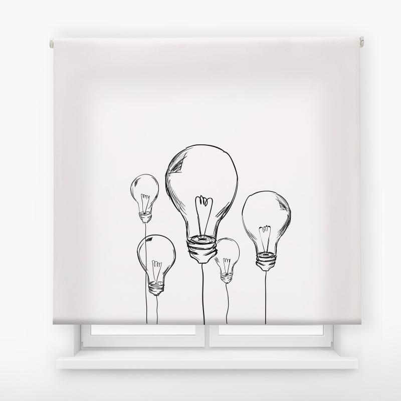 Estor de impresión digital bombillas