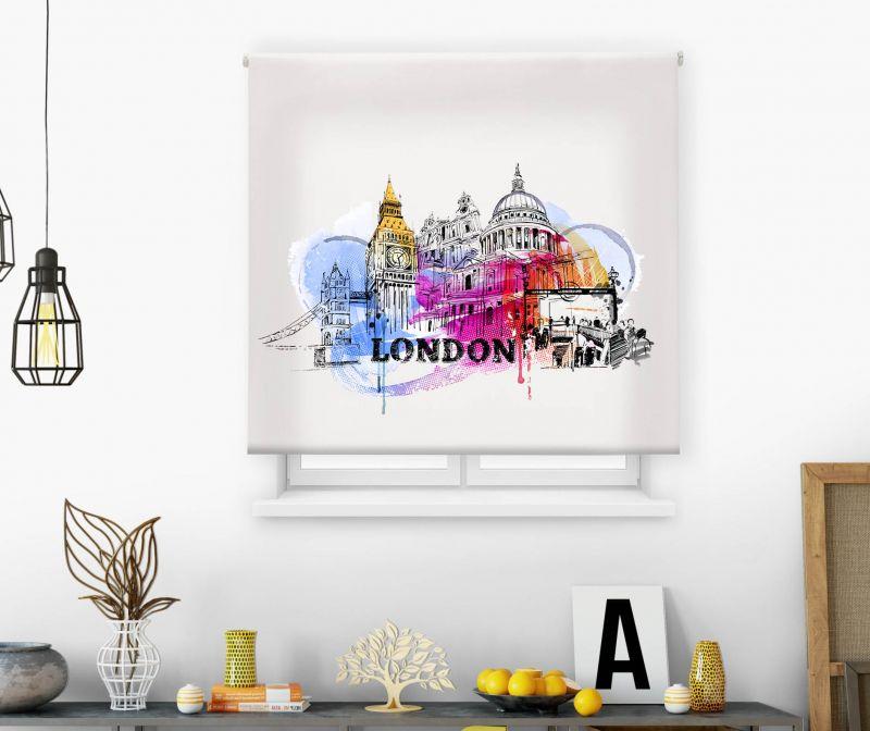 Estor impresión digital  juvenil Cool Fiction Ciudad Londres 2