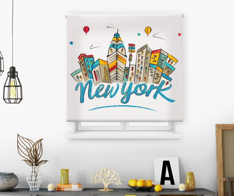 Estor impresión digital  juvenil Cool Fiction Nueva York 2