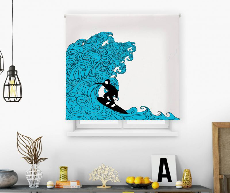 Estor impresión digital  juvenil Cool Fiction Surf 1