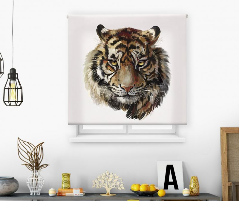 Estor impresión digital  juvenil Cool Fiction Tigre 3
