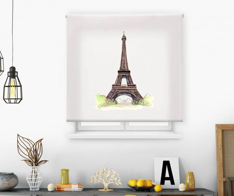 Estor impresión digital  juvenil Cool Fiction Torre Eiffel