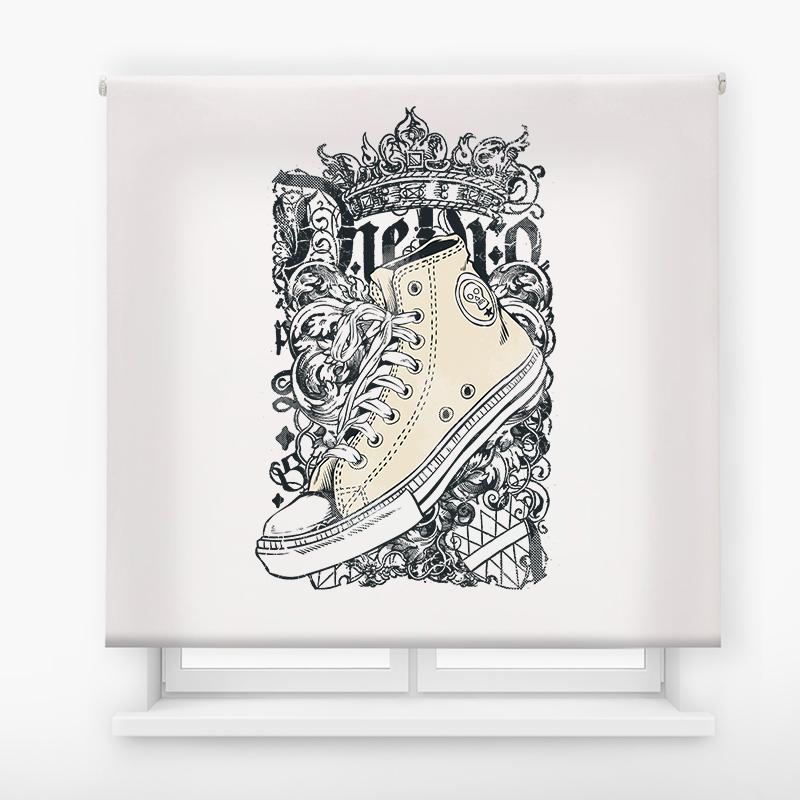 Estor impresión digital  juvenil Cool Fiction Zapatillas 14