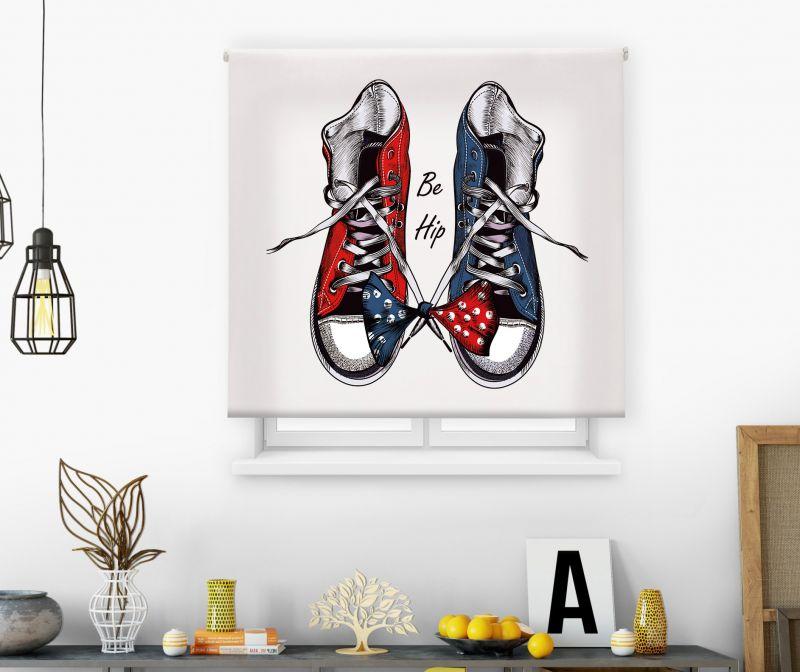 Estor impresión digital  juvenil Cool Fiction Zapatillas 4
