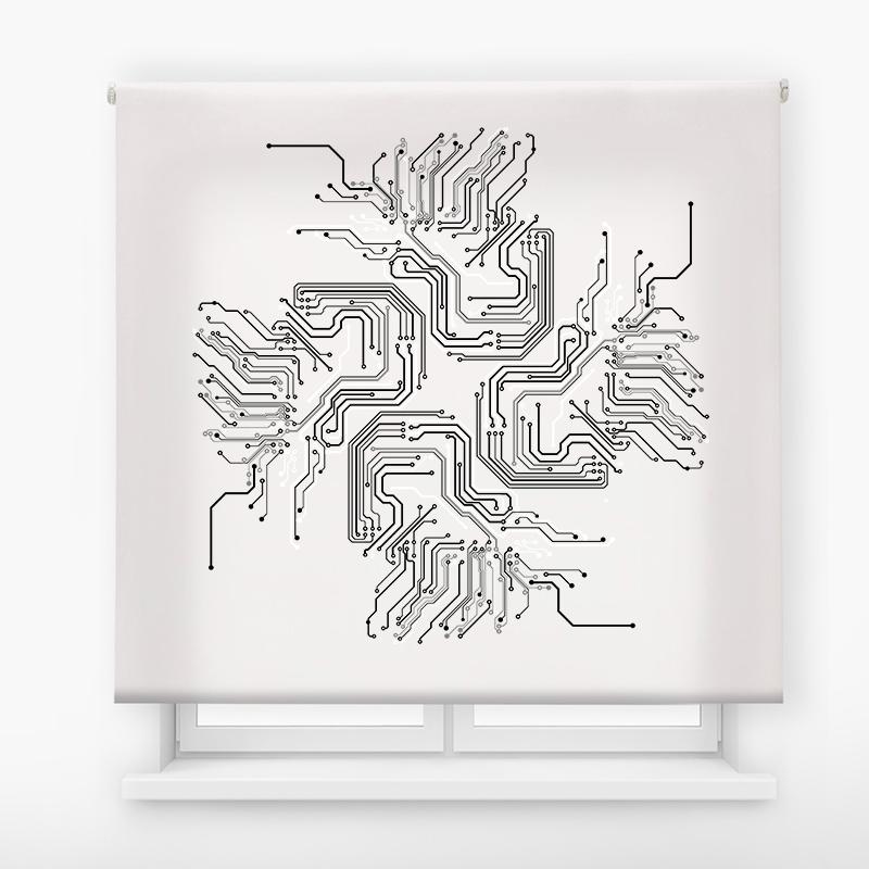 estor enrolalble digital cualquier ambiente /abstracto 03