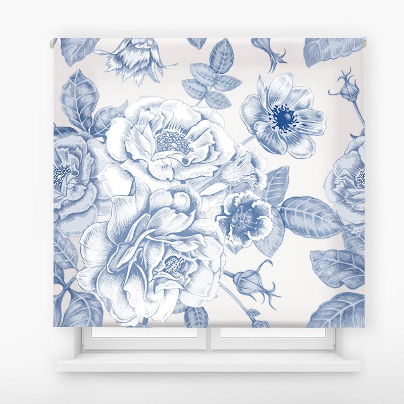 estor enrolalble digital cualquier ambiente /floral 31