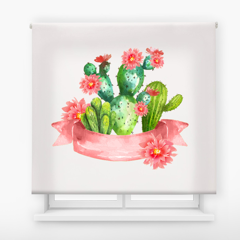 estor enrollable digital cualquier ambiente /floral 62
