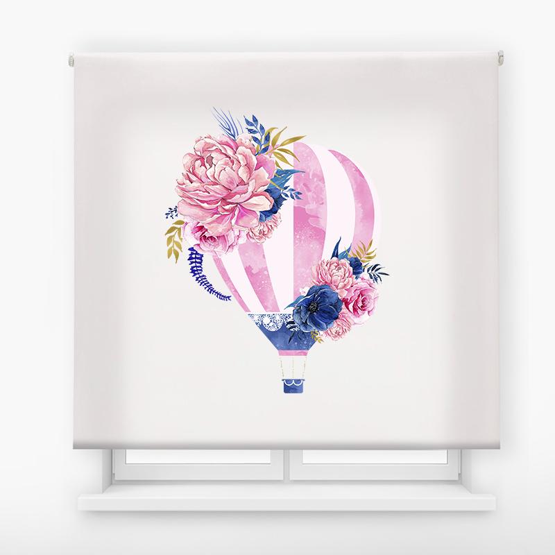 estor enrollable digital cualquier ambiente /floral 75
