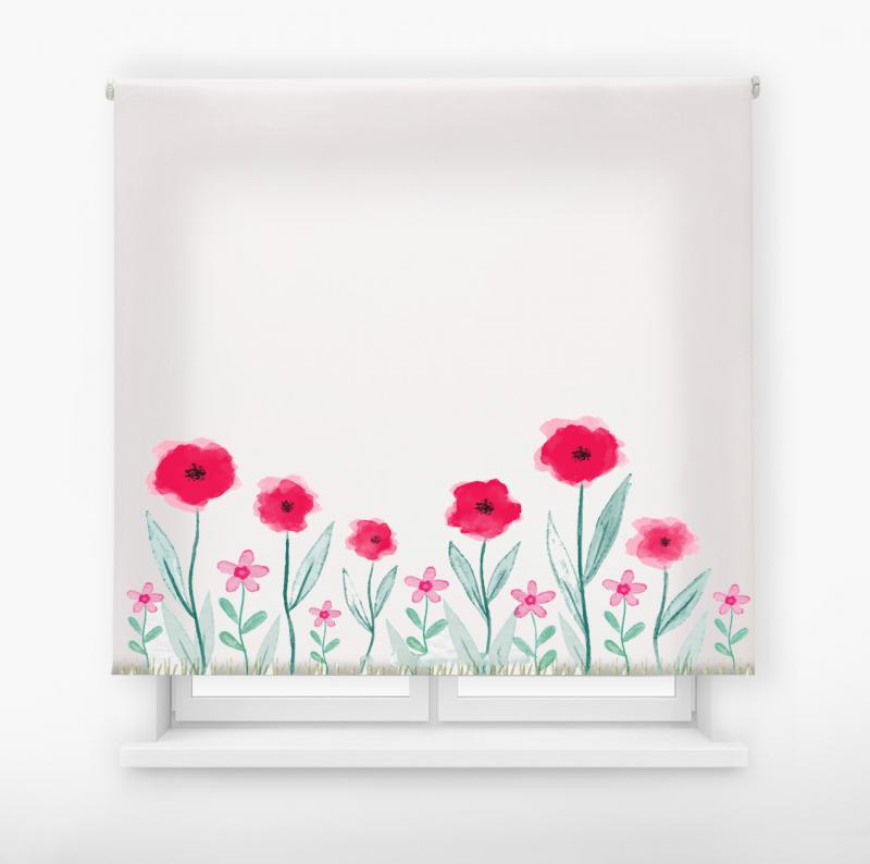 estor enrolalble digital cualquier ambiente /floral 29