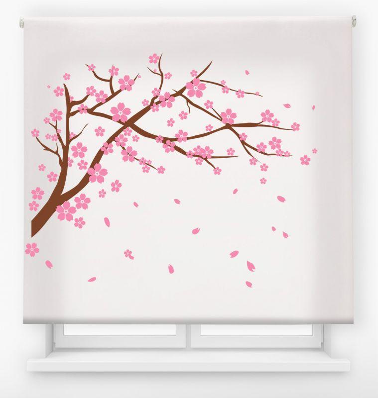 estor enrolalble digital cualquier ambiente /floral 2