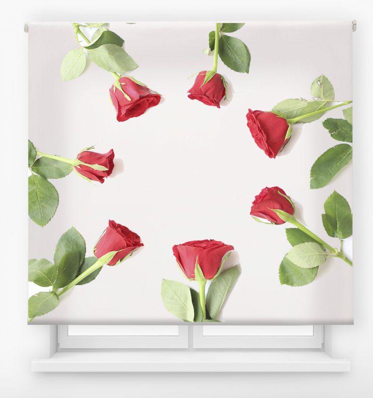 estor enrolalble digital cualquier ambiente /floral 37