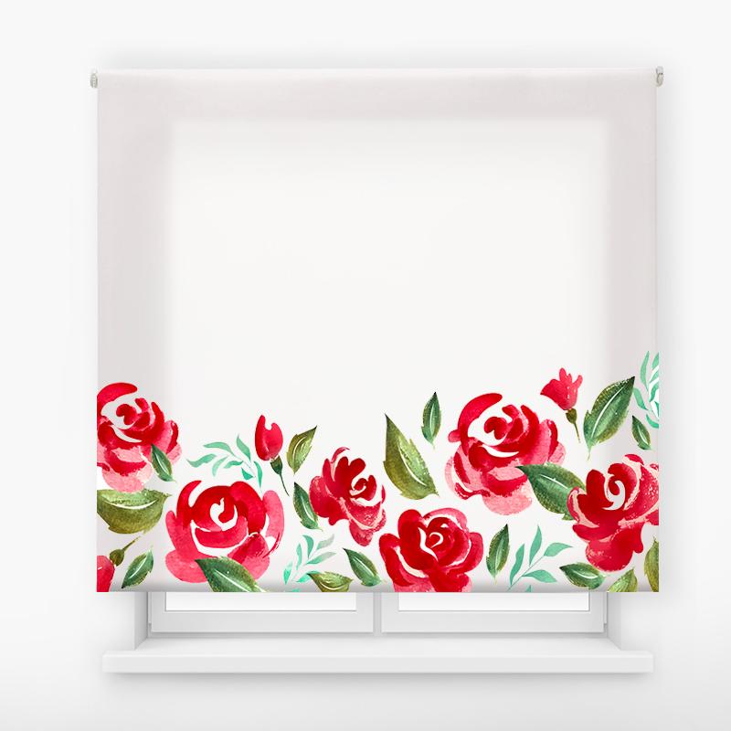 estor enrolalble digital cualquier ambiente /floral 38