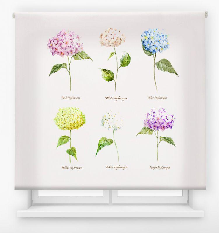 estor enrolalble digital cualquier ambiente /floral 39