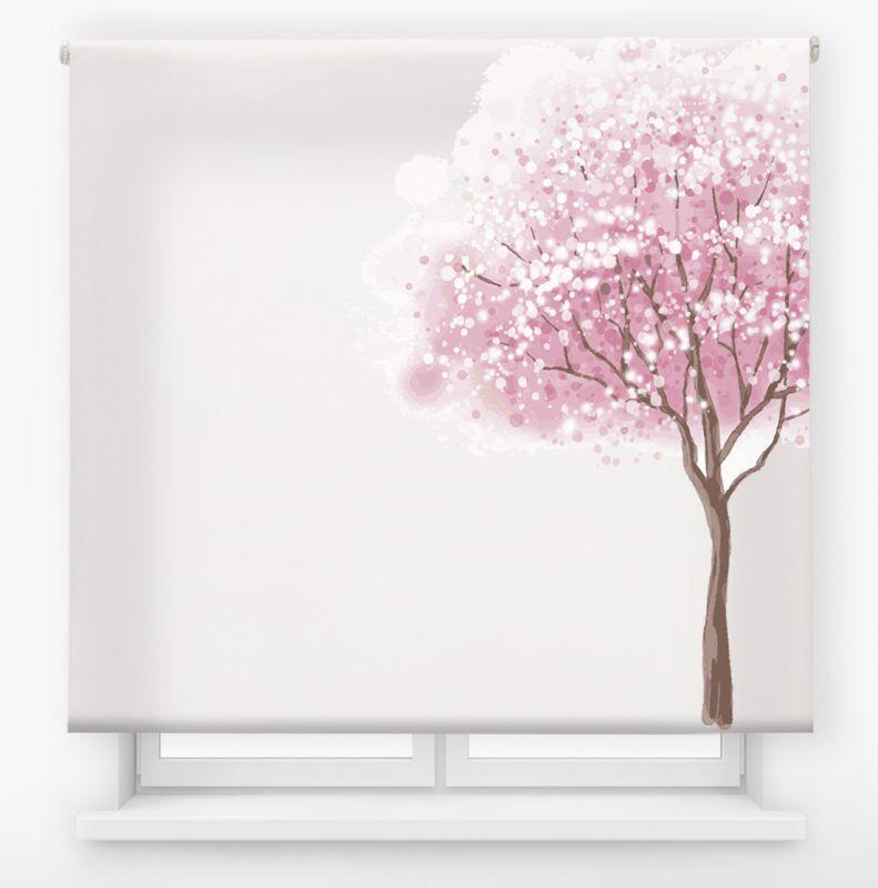 estor enrolalble digital cualquier ambiente /floral 3