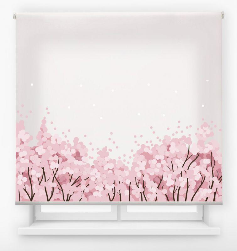 estor enrolalble digital cualquier ambiente /floral 5