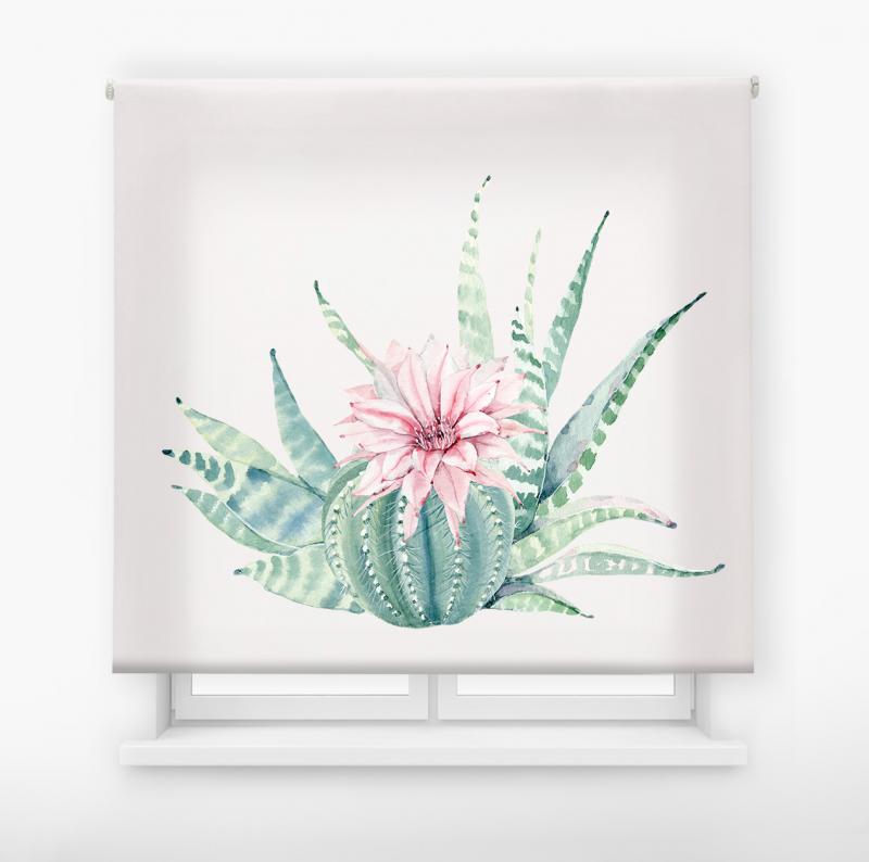 estor enrollable digital cualquier ambiente /floral 60