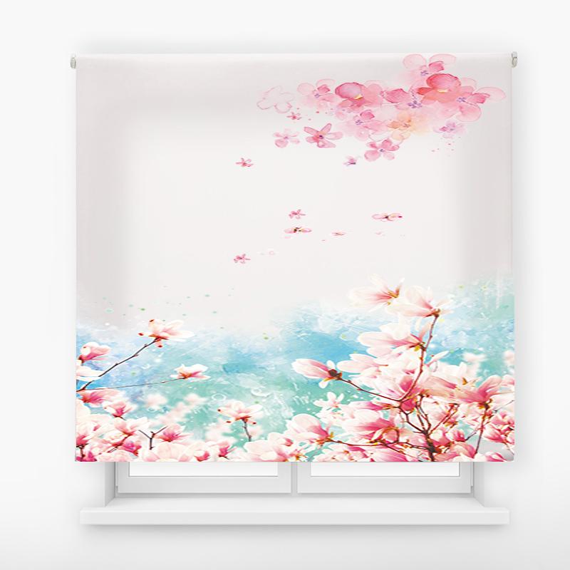 estor enrollable digital cualquier ambiente /floral 65