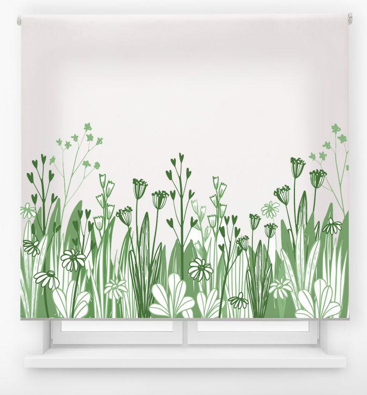 estor enrollable digital cualquier ambiente /floral 21