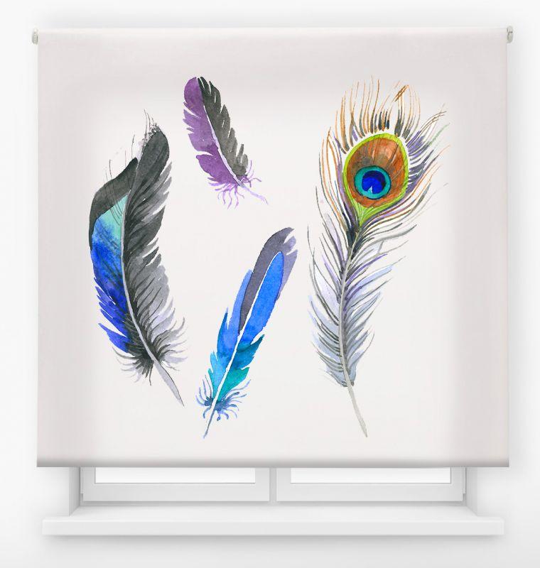 estor enrollable juvenil impresión digital diseño tribal nº 9