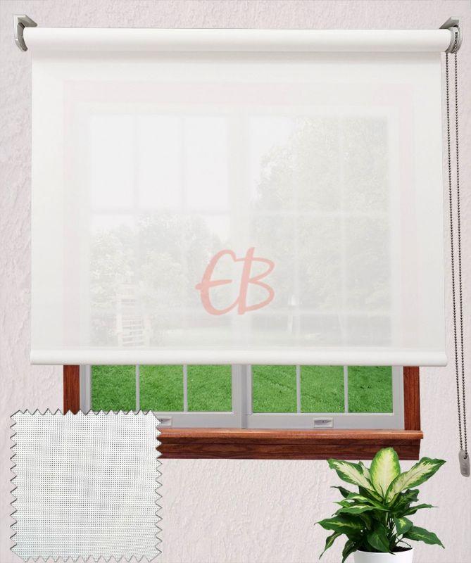 Estor enrollable MicroScreen Blanco 4201