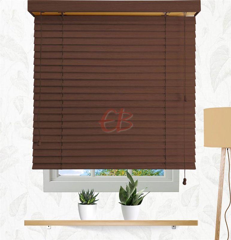 Veneciana de madera 50 mm Cordón Sapelly 6209