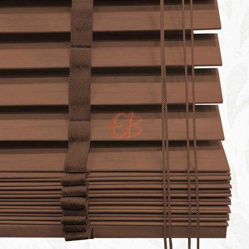 Veneciana de madera 50 mm Cinta Sapelly 6209