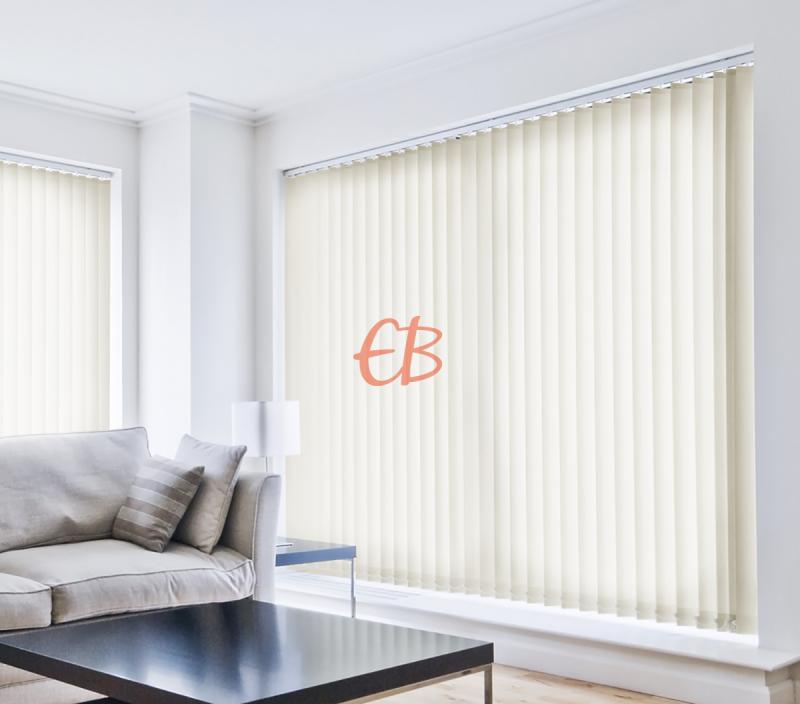 cortina vertical traslucida lumen color beige