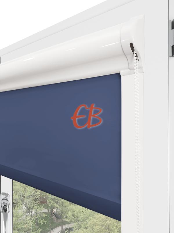 Estor enrollable minibox Tamizador C1 Multicolor Azul marino 3326