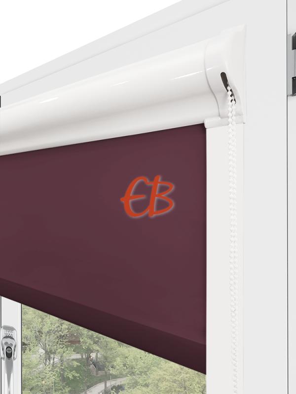 Estor enrollable minibox Tamizador C1 Multicolor Berenjena 3309