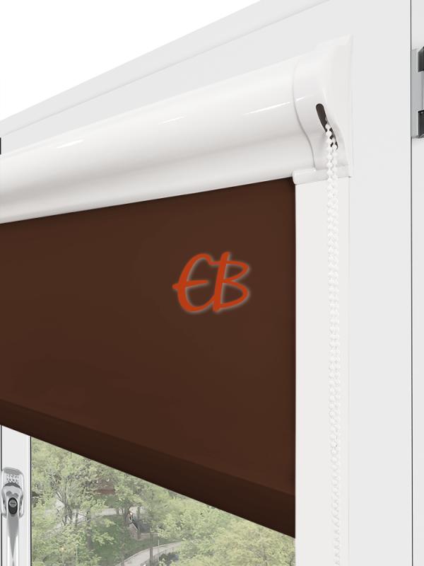 Estor enrollable minibox Tamizador C1 Multicolor Chocolate 3325