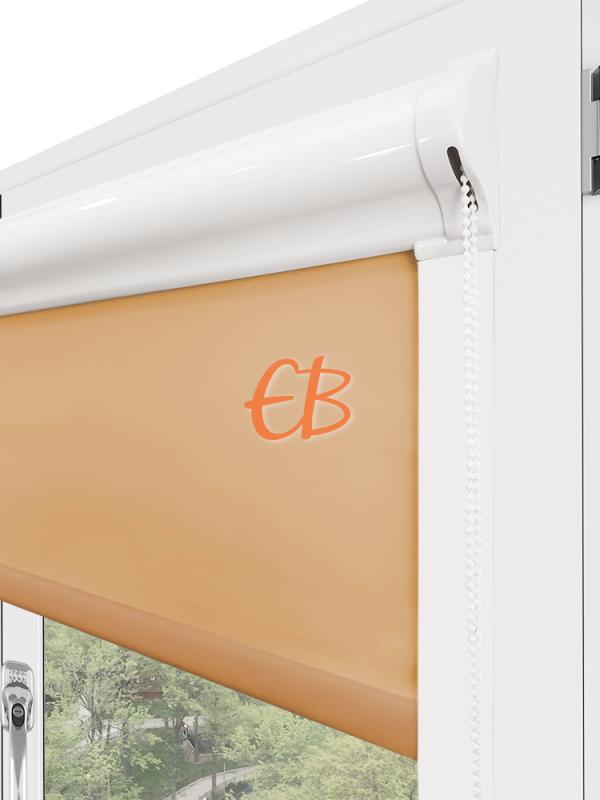 estor para ventana minibox tejido tamizador marrón claro