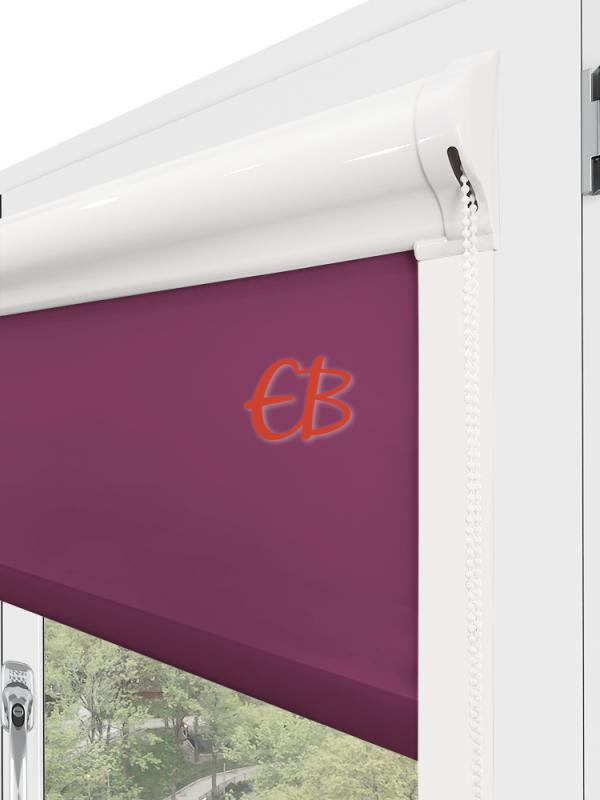 estor para ventana minibox tejido tamizador purpura