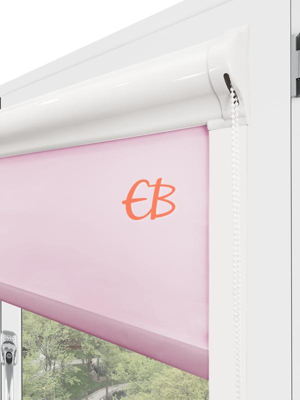 estor para ventana minibox tejido tamizador rosa claro