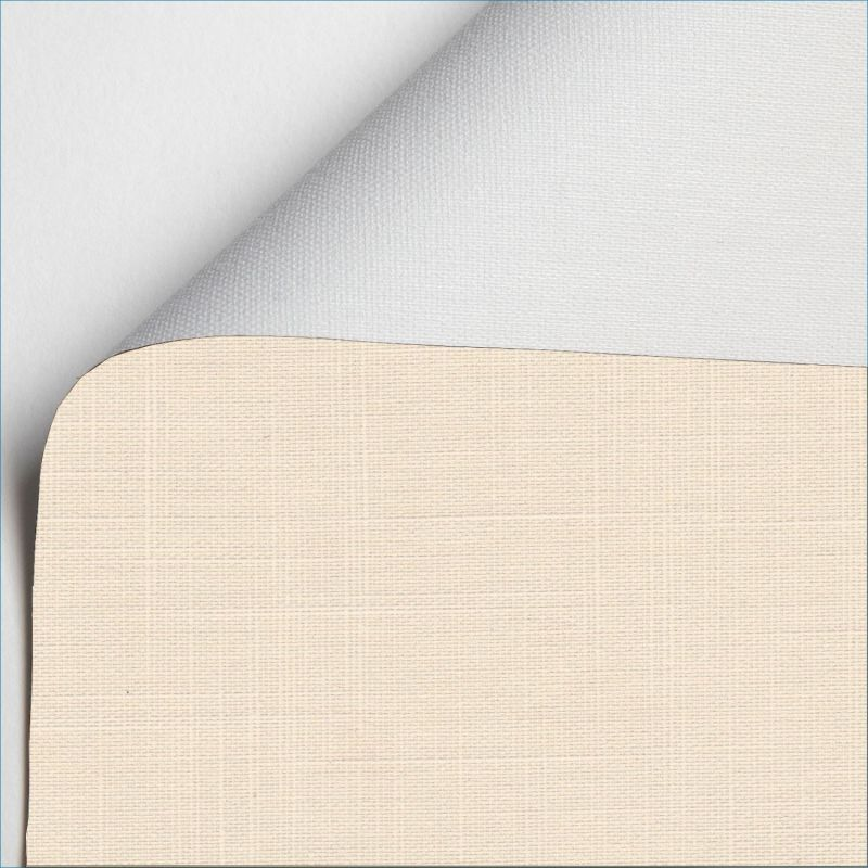 estor enrollable shantung blackout color crema