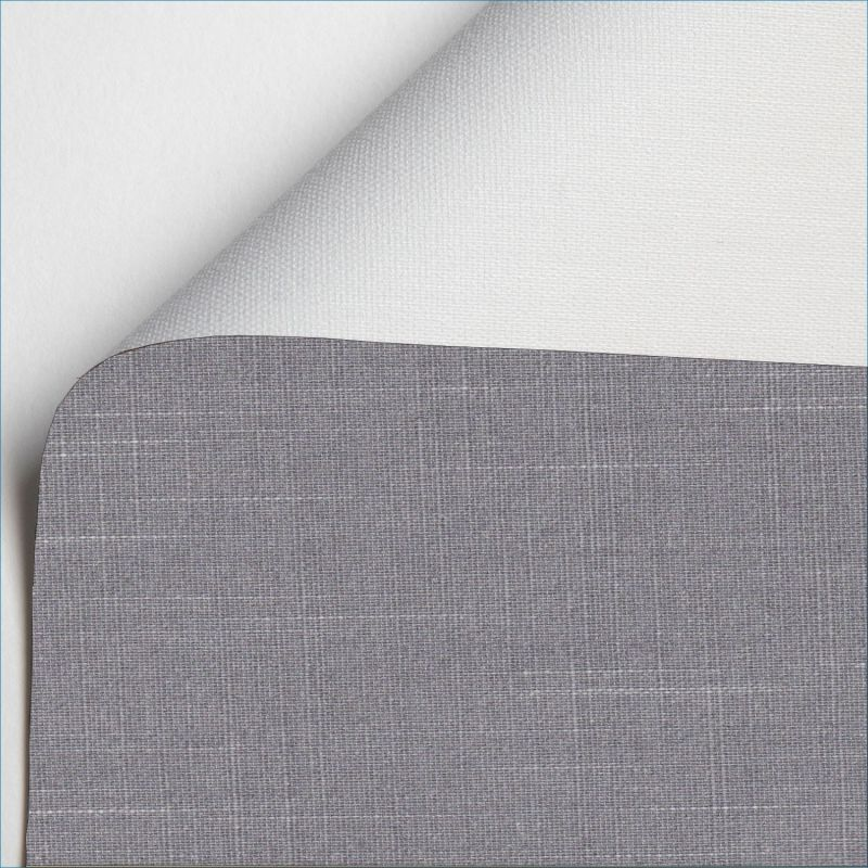 estor enrollable shantung blackout color gris