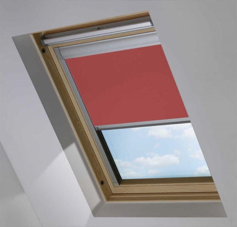 Cortina para ventana de tejado modelo Roto opaco color Rosa Rojizo Opaco 917149-0119