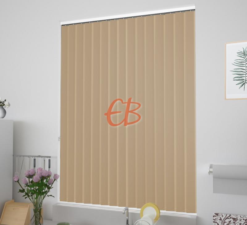 cortinas verticales tejido opaco eclipse color tostado 1506