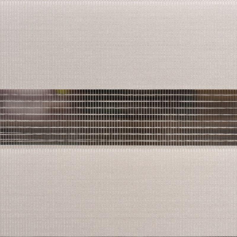 estor marco ventana minibox traslucido color gris