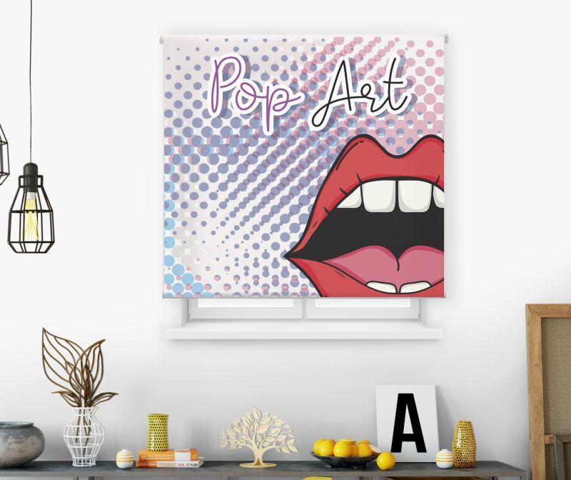 estores enrollables juveniles impresos modelo pop art 12