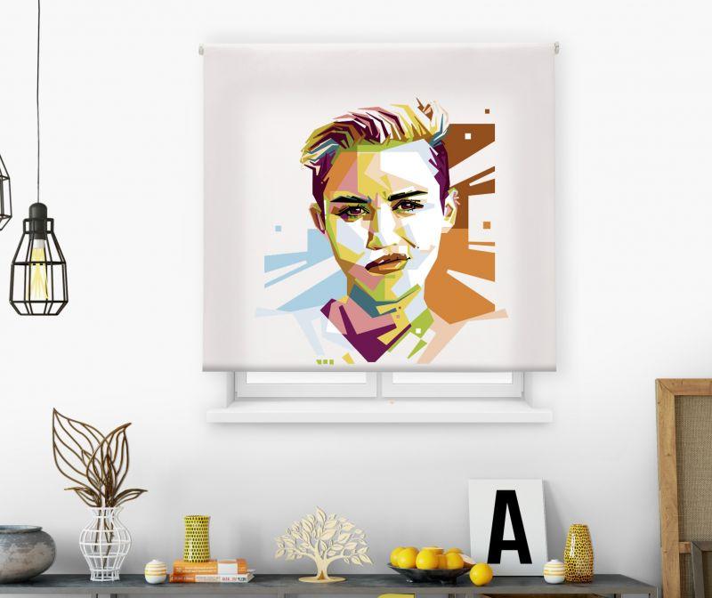 estores enrollables juveniles impresos modelo pop art 26