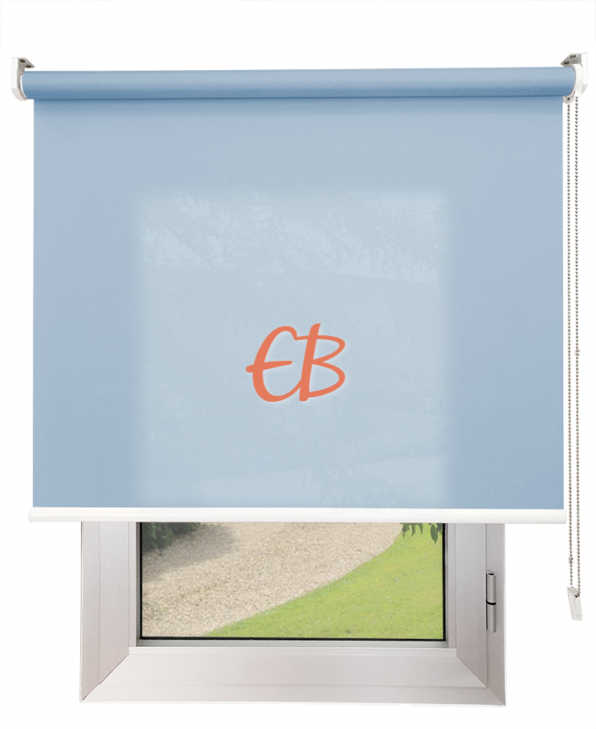 Estores enrollables Screen Trevira Azul claro 40757/6095