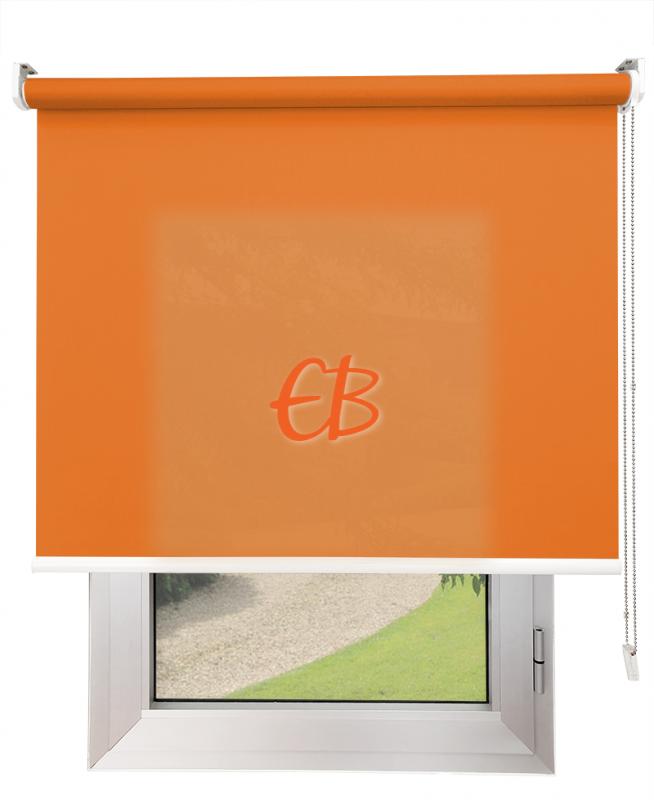 Estores enrollables Screen Trevira Naranja 40757/7042