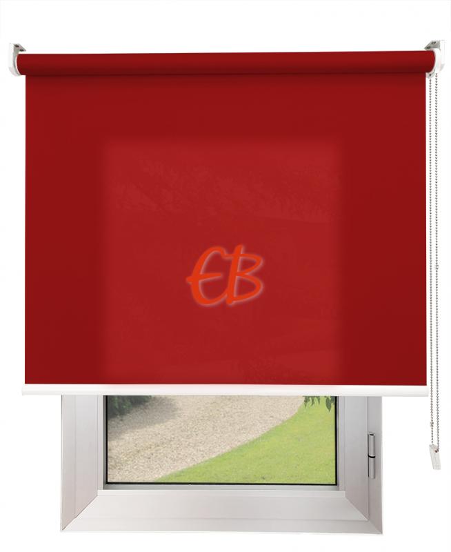 Estores enrollables Screen Trevira Rojo 40757/6960