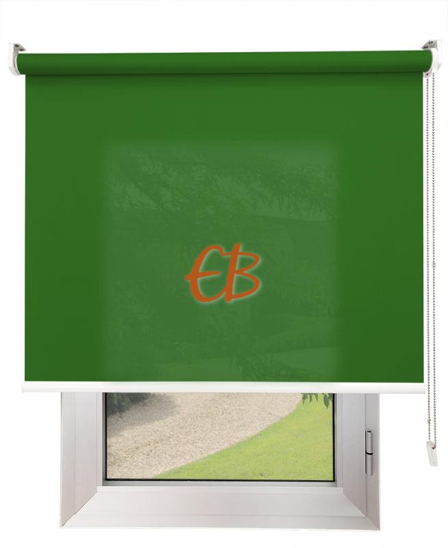 Estores enrollables Screen Trevira Verde oscuro 40757/7651
