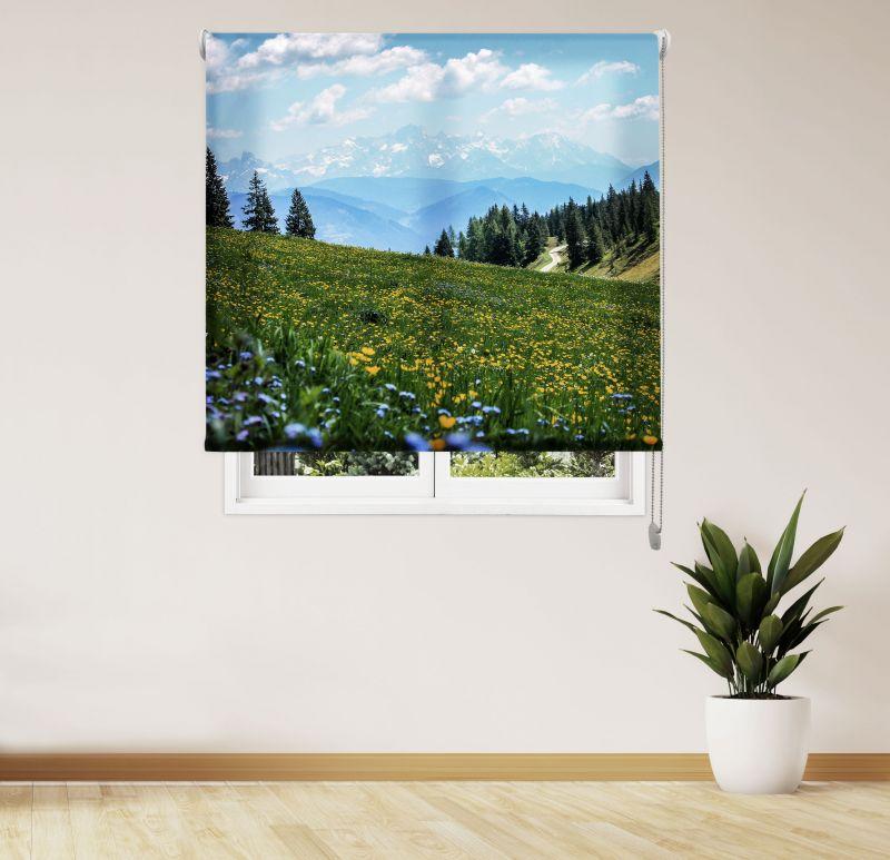 Estor Enrollable Impresión Digital Acabado Paisajes Bosque